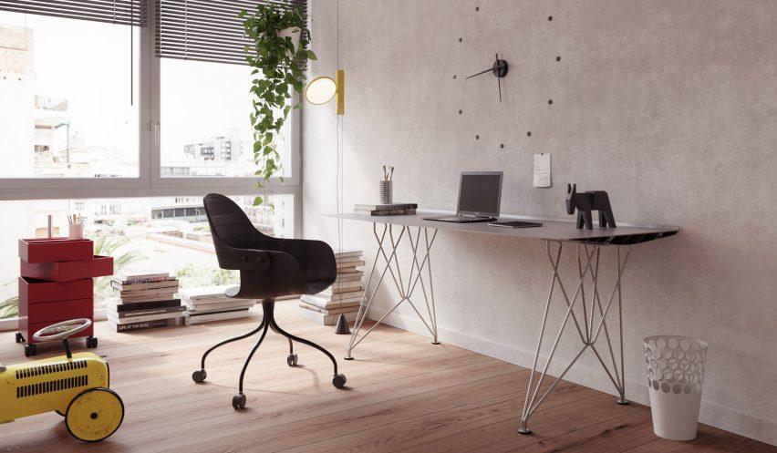 Table B desk version