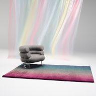 Technicolour textiles by Peter Saville for Kvadrat
