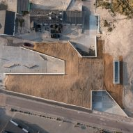 Loop Architects wedges Thy National Park visitor centre into dune landscape