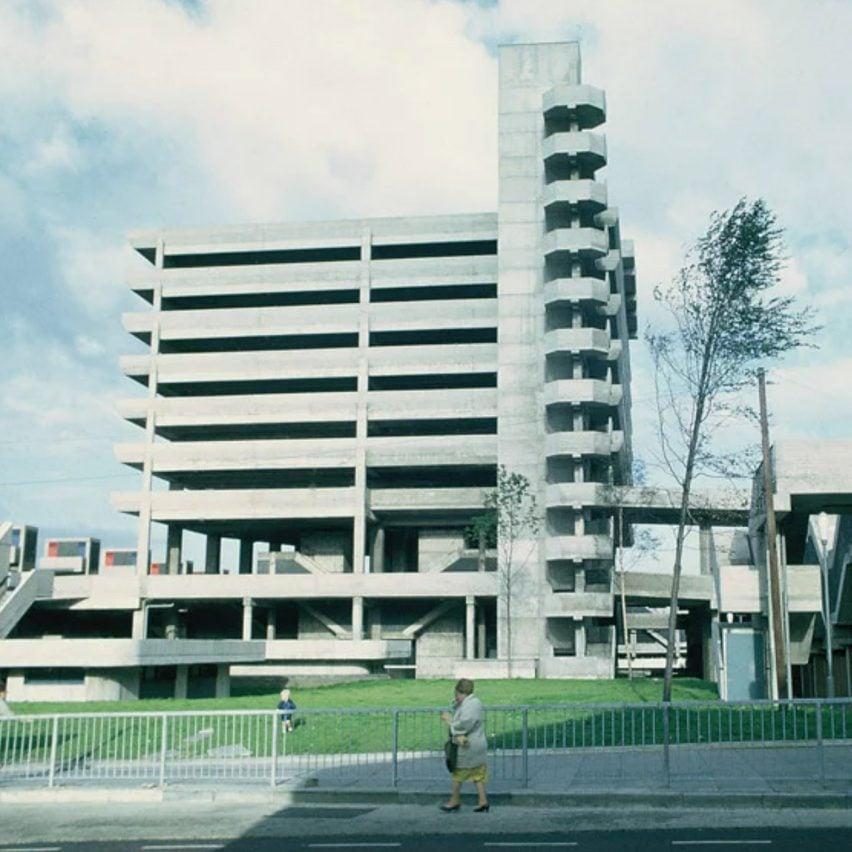 Trinity Square car park in Gateshead