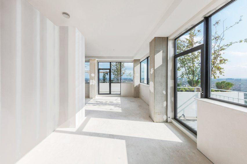 интерьер квартиры в Trudo Vertical Forest