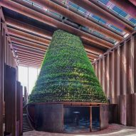 V8 Architects' Dutch Biotope pavilion generates water and food at Dubai Expo