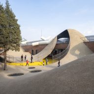 WAA transforms Beijing warehouses into a playscape for sensory learning
